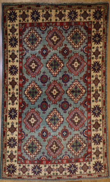 R9308 Afghan Yakash Kazak Rug