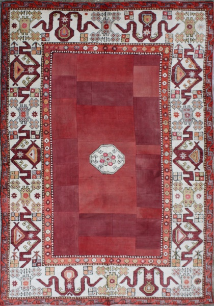 R3070 Anatolian Carpet Patchwork