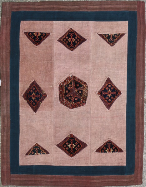 R3747 Anatolian Carpet Patchwork