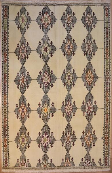 R6346 Vintage Anatolian Cicim Rug