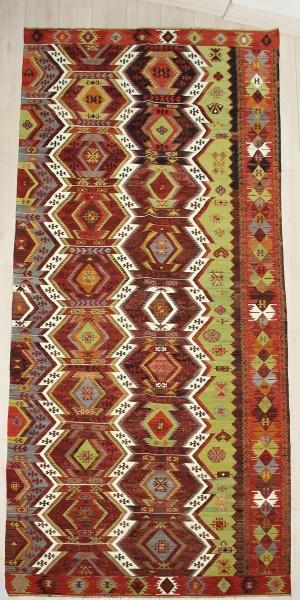 R6550 Anatolian Emirdag Kilim Rug