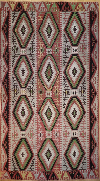 R7498 Anatolian Esme Kilim Rug