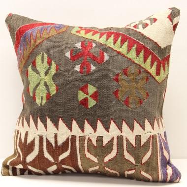 M413 Anatolian Kilim Cushion Cover