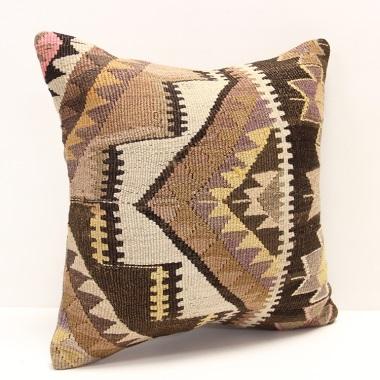 M962 Anatolian Kilim Cushion Cover