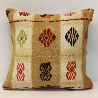 M972 Anatolian Kilim Cushion Cover