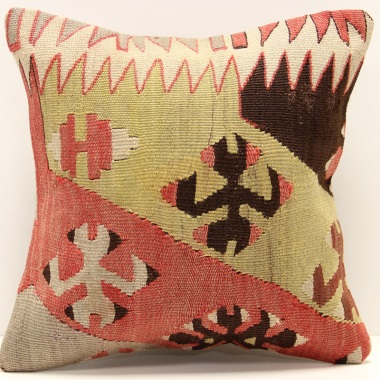 S257 Anatolian Kilim Cushion Cover