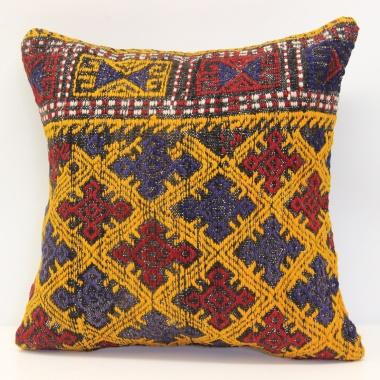 M1156 Anatolian Kilim Cushion Cover