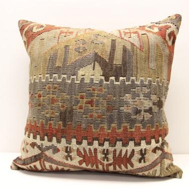 L555 Anatolian Kilim Cushion Cover