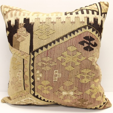 XL361 Anatolian Kilim Cushion Cover