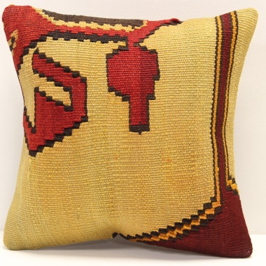 S341 Anatolian Kilim Cushion Cover