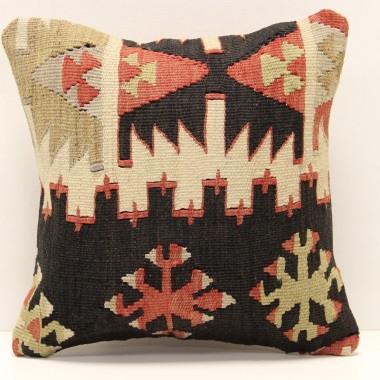 S465 Anatolian Kilim Cushion Cover