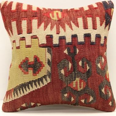 S333 Anatolian Kilim Cushion Cover