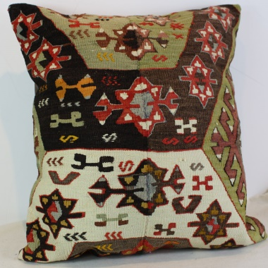 XL388 Anatolian Kilim Cushion Cover