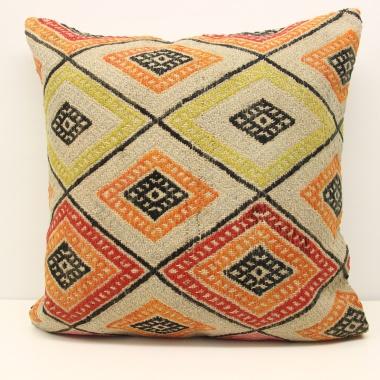 XL393 Anatolian Kilim Cushion Cover