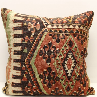 XL401 Anatolian Kilim Cushion Cover
