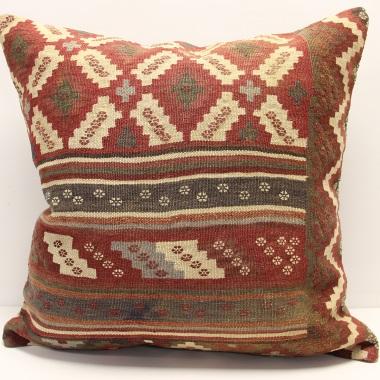 XL408 Anatolian Kilim Cushion Cover