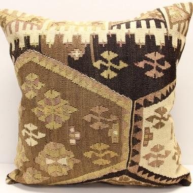 XL419 Anatolian Kilim Cushion Cover