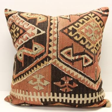 XL420 Anatolian Kilim Cushion Cover