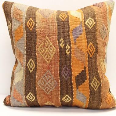 Anatolian Kilim Cushion Cover L414