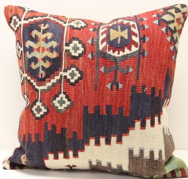 Anatolian Kilim Cushion Cover L558