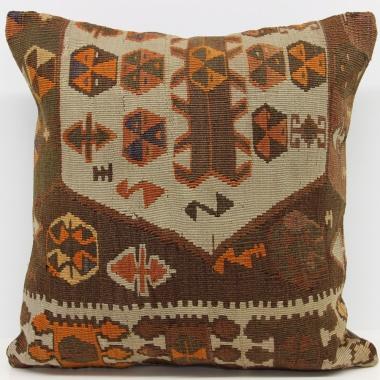 Anatolian Kilim Cushion Cover L578