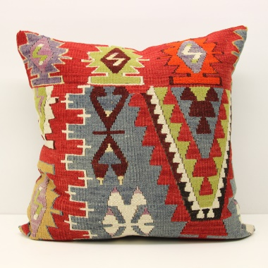 Anatolian Kilim Cushion Cover L593