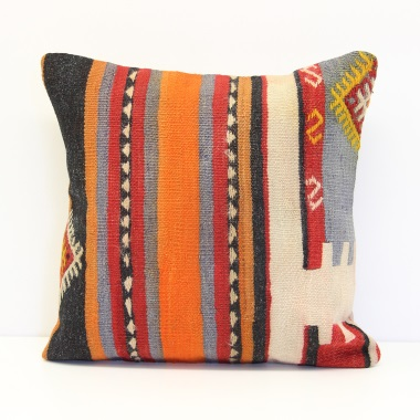 Anatolian Kilim Cushion Cover M1446