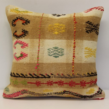 Anatolian Kilim Cushion Cover M1512