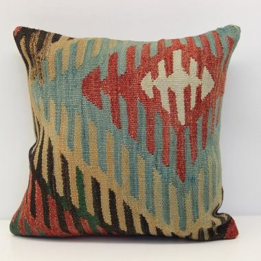 Anatolian Kilim Cushion Cover M276