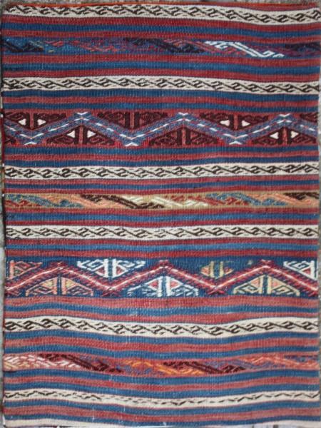 R5613 Anatolian Kilim Floor Cushion Cover