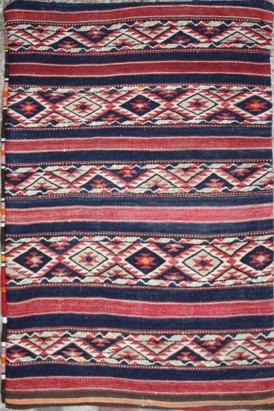 R5614 Anatolian Kilim Floor Cushion Cover