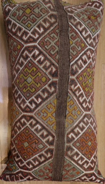 R7061 Anatolian Kilim Floor Cushion Cover
