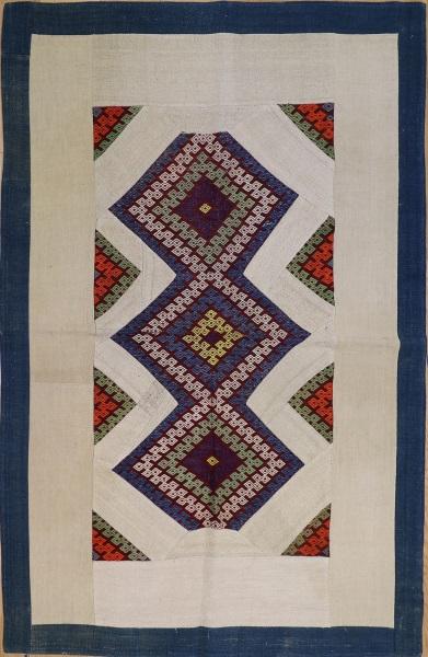 R2614 Anatolian Kilim Patchwork