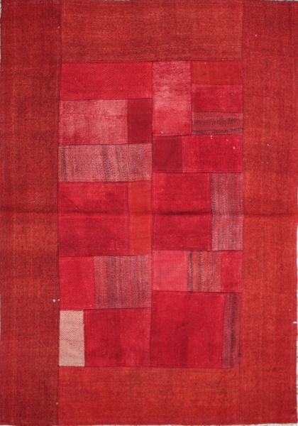 R1345 Anatolian Kilim Patchwork Rug