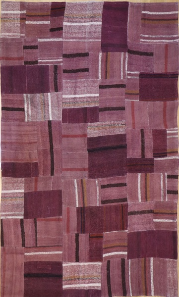 R3420 Anatolian Kilim Patchwork Rug