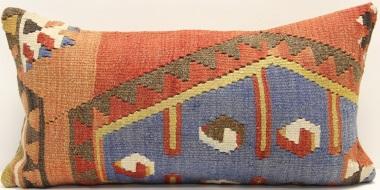D13 Anatolian Kilim Pillow Cover