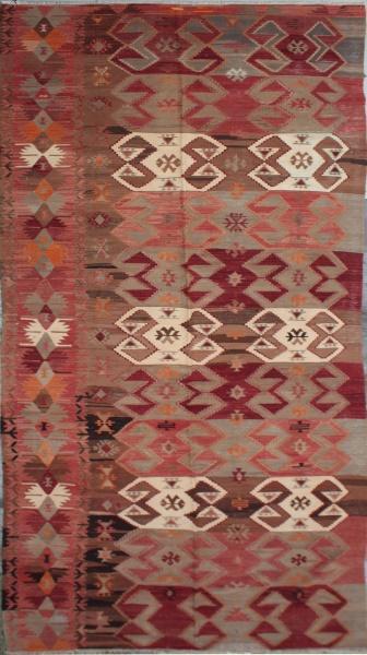 R5043 Anatolian Emirdag Kilim Rug