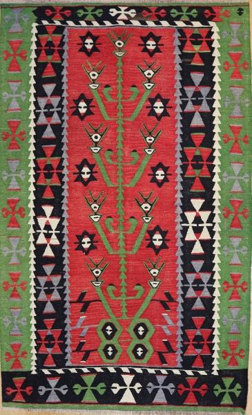 R6345 Anatolian Kilim Rug