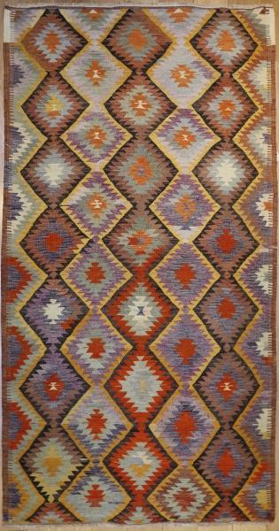 R6406 Anatolian Kilim Rug