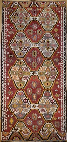R6517 Anatolian Kilim Rug