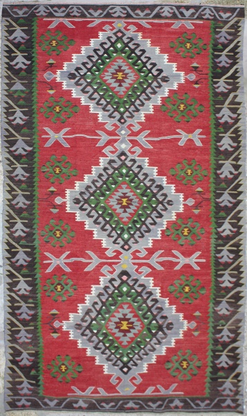 R6854 Anatolian Kilim Rug