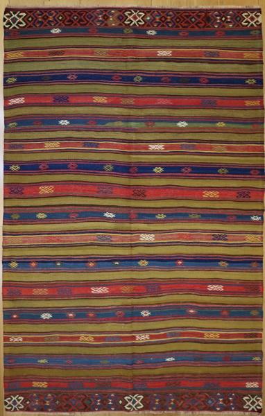 R6877 Anatolian Kilim Rug