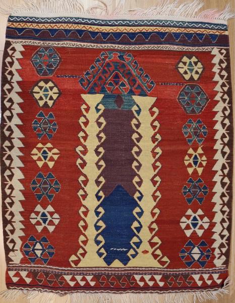 R6903 Anatolian Kilim Rug