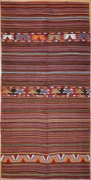 R7365 Anatolian Kilim Rug