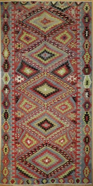 R7381 Anatolian Kilim Rug