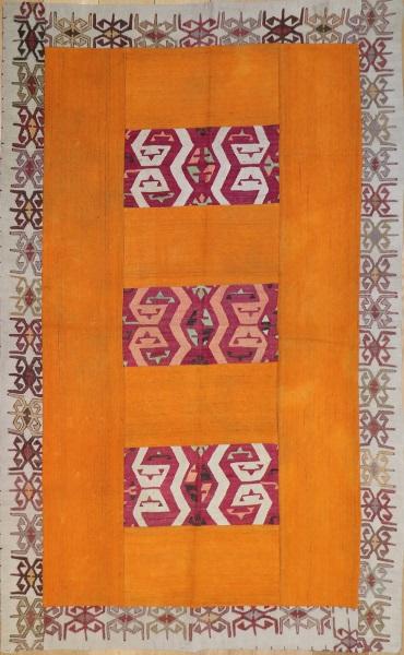 R3767 Anatolian Patchwork Rug