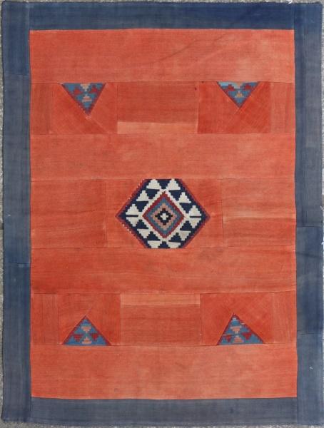 R3743 Anatolian Rug Patchwork