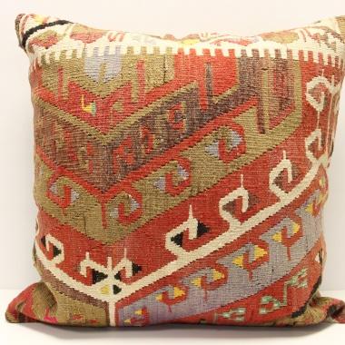 XL320 Anatolian Traditional Wool Kilim Cushion Covers
