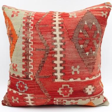L447 Anatolian Vintage Kilim Cushion Cover