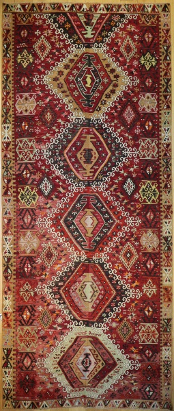 R9099 Anatolian Vintage Kilim Rug